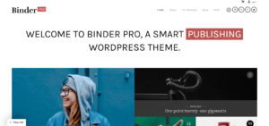 Binder Pro - Membership Themes WordPress