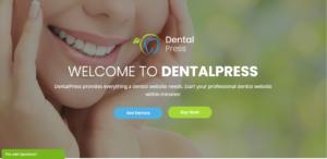 Best wordpress dental clinic theme- dental