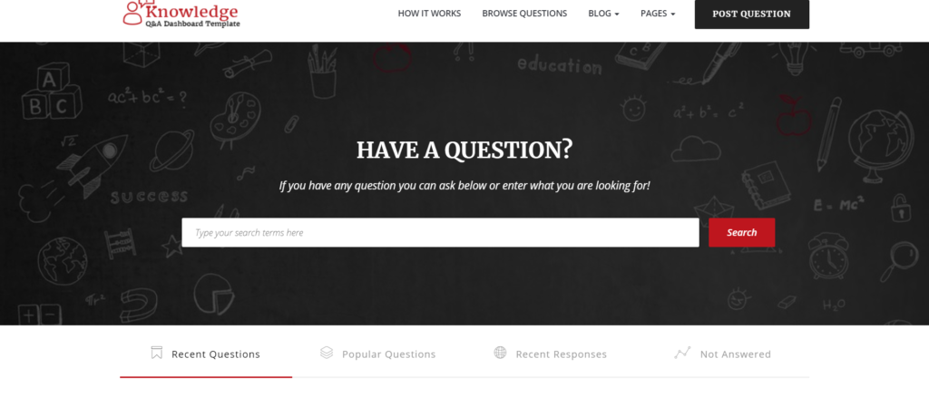 Infocenter - Top 10 Question and Answer Theme for WordPress