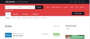 job portal website templates