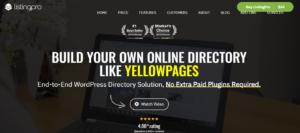 ListingPro - best free directory theme WordPress