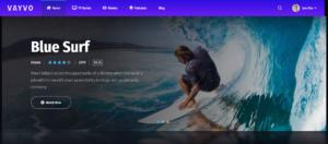 Blue Surf - Theme for Subscription Sites