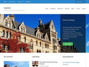 Education theme wordpress - Capital