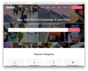 Classima - Best Business Directory Themes