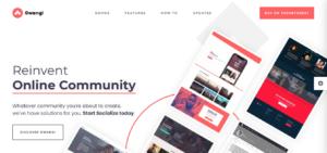 free WordPress themes for social networking site- Gwangi