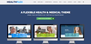 HealthFlex - medical WP theme