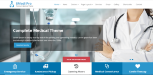 EightMedi - medical directory WordPress theme