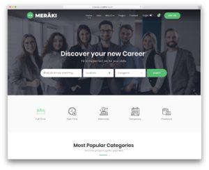 Meraki - best business finder themes