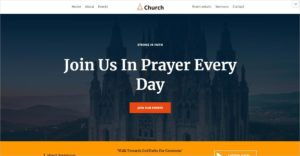 Chrurch Themes WordPress