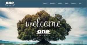 One Church - Chrurch Themes WordPress