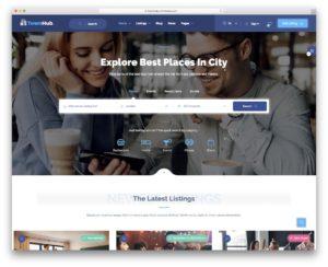 TownHub - Business finder WordPress theme