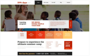 Best Summer Camp WordPress Theme