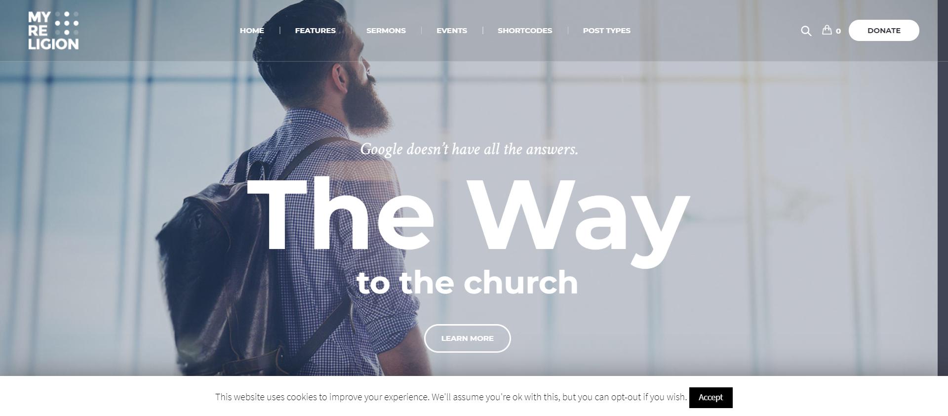 My Religion - Religious themes for WordPress