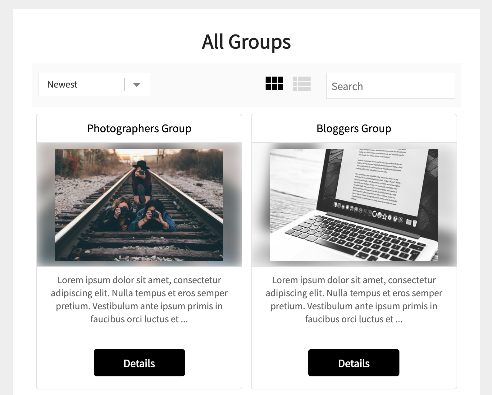 All groups