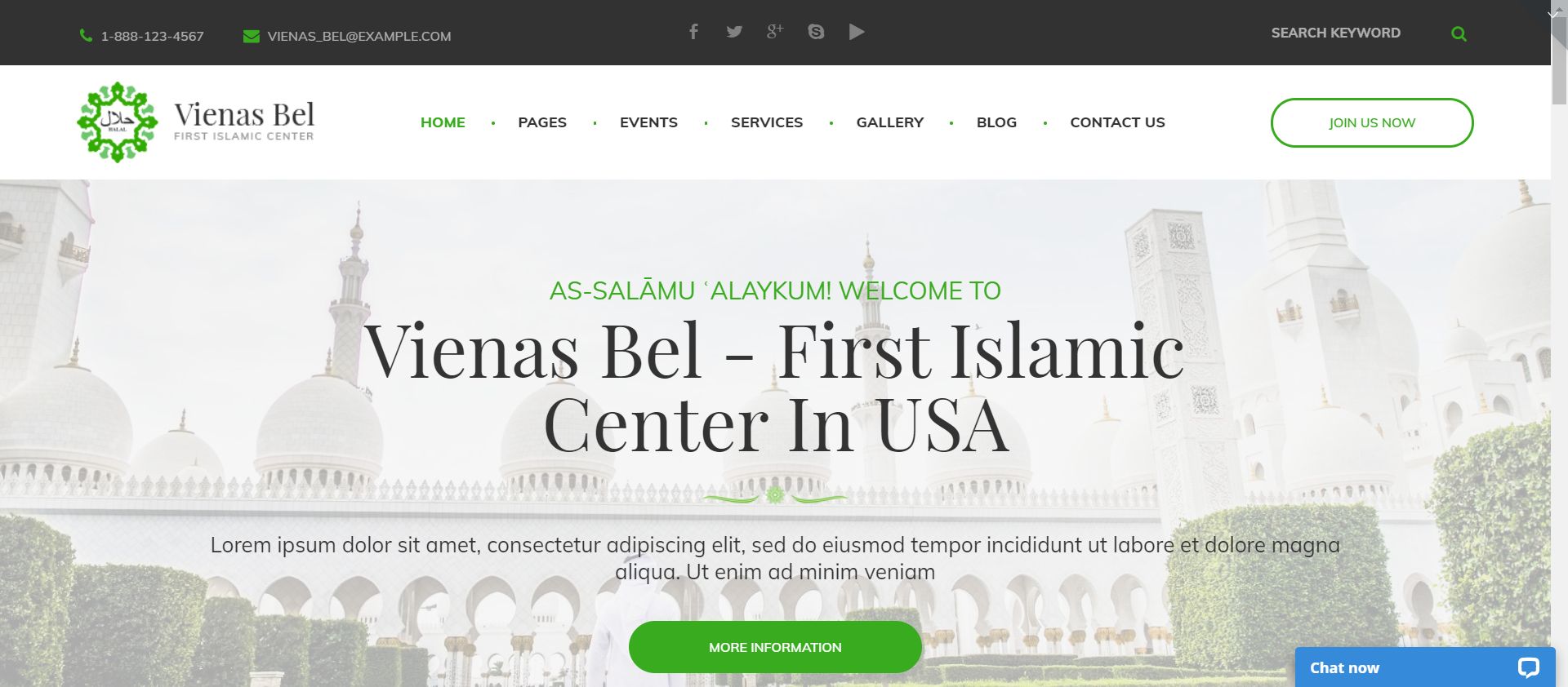 VienasBel - Religious themes for WordPress