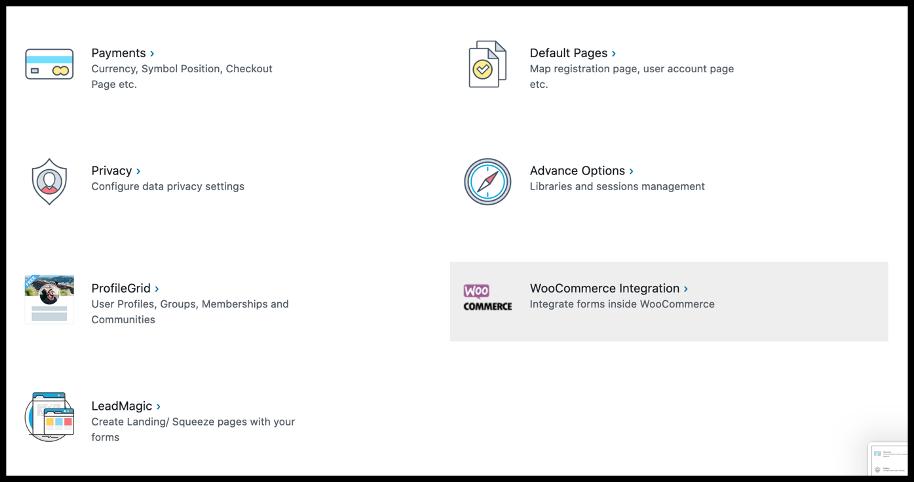 WooCommerce Integration- WooCommerce Registration Form