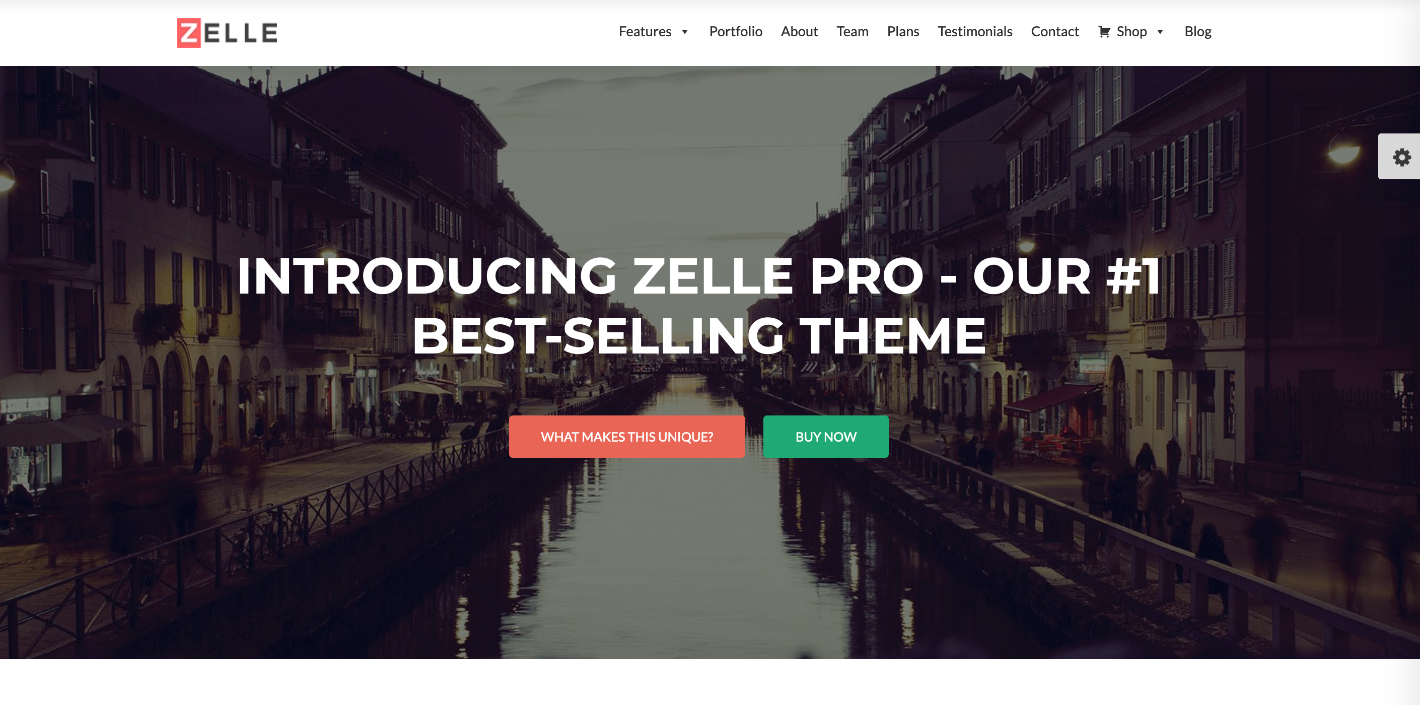 WordPress business theme template