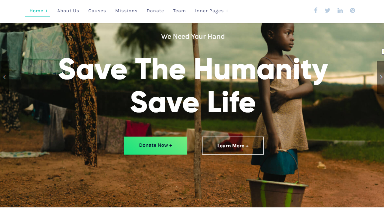Best NGO website WordPress themes