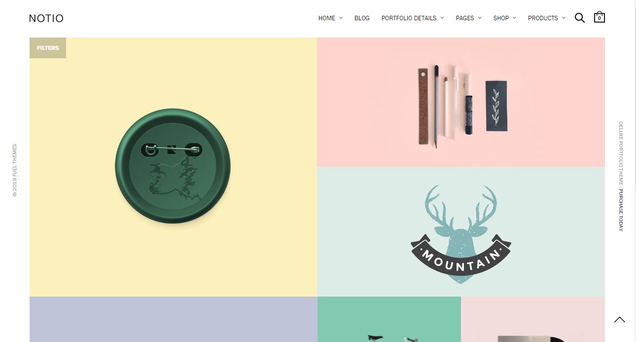 digital agency theme