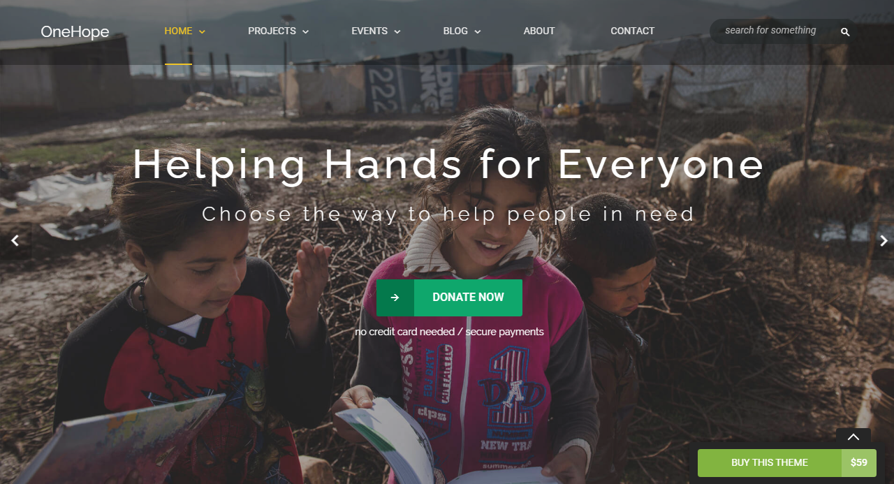 Best NGO templates WordPress