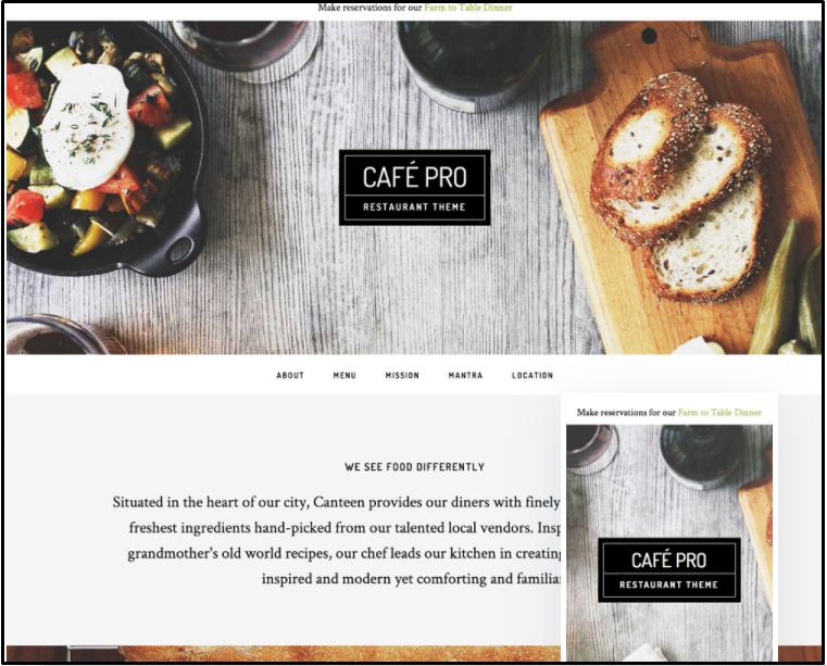 Best cafe WordPress themes