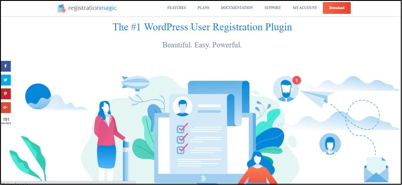 Registration Form Plugin