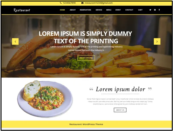 Best pizza WordPress themes