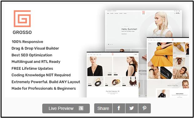 Best WordPress Clothing Themes
