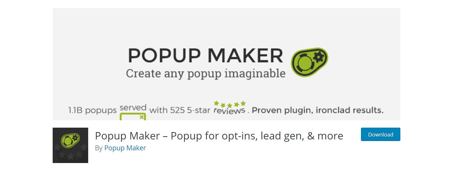 best free popup plugin wordpress