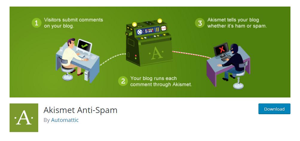 Anti-spam WordPress plugins for blogs