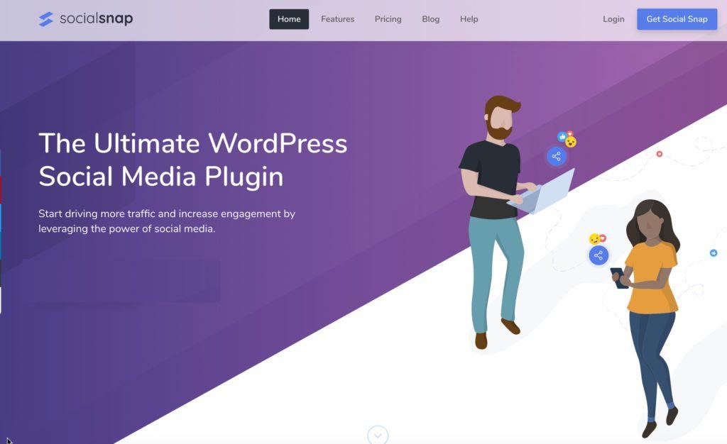 social share WordPress plugins for blogs