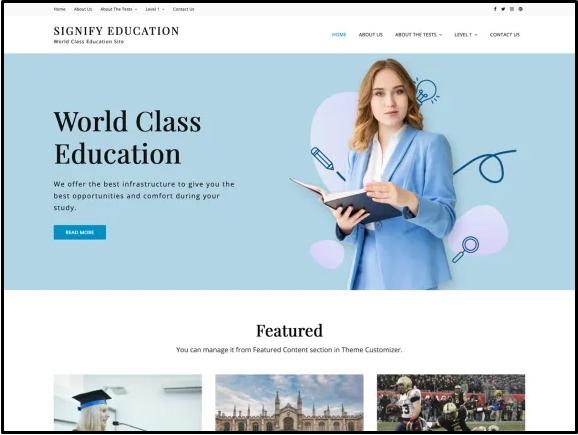 best education website