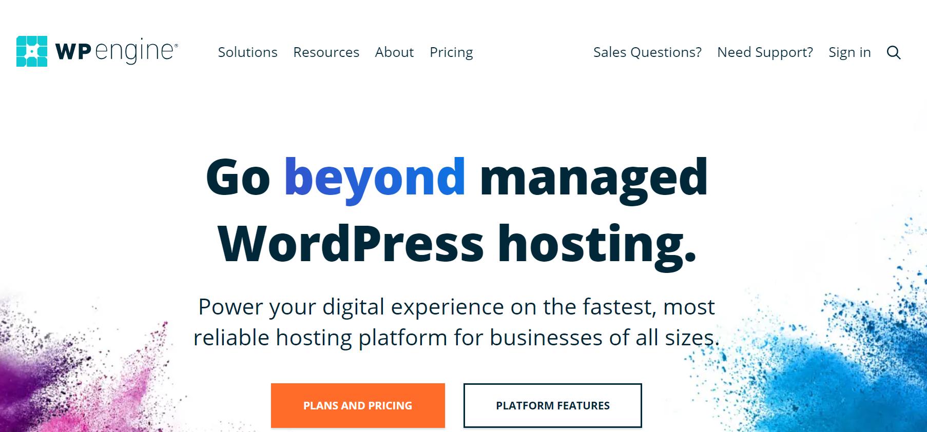 WP Engine- WooCommerce hosting