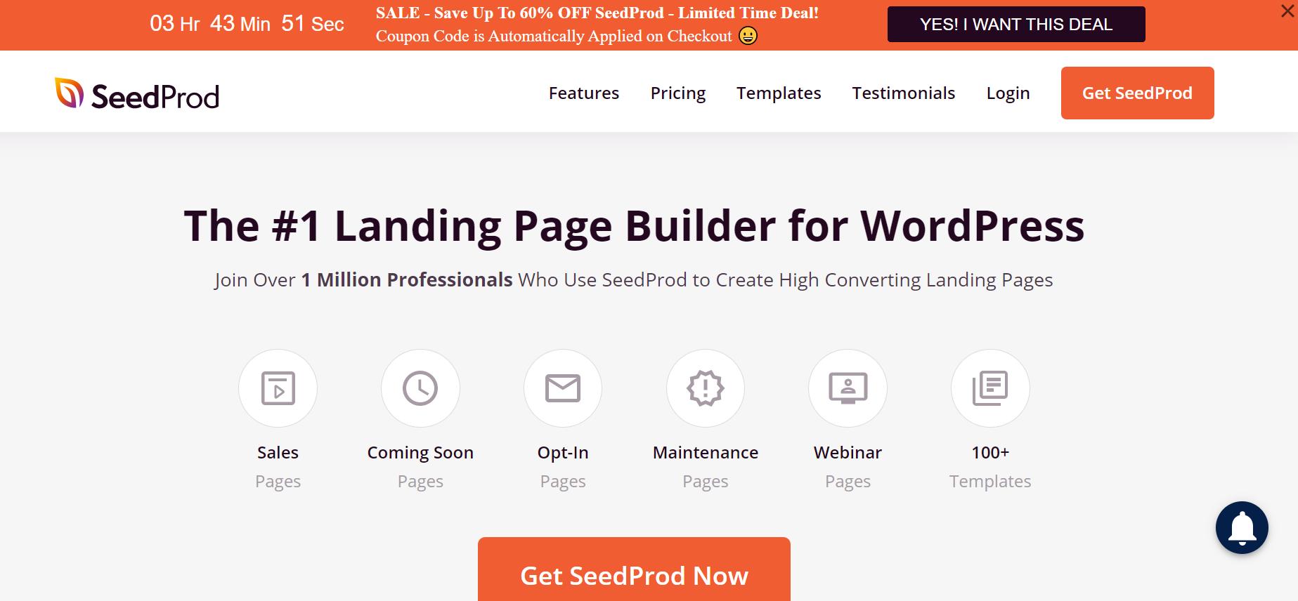 SeedProd-WooCommerce website