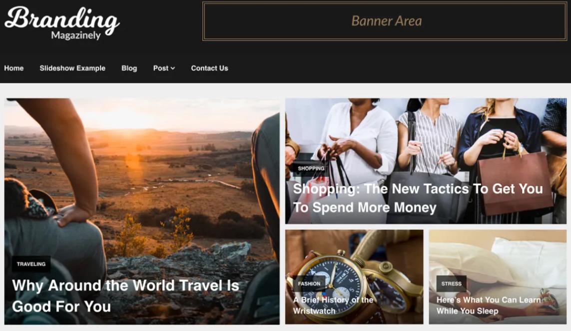 blogger theme for affiliate marketing