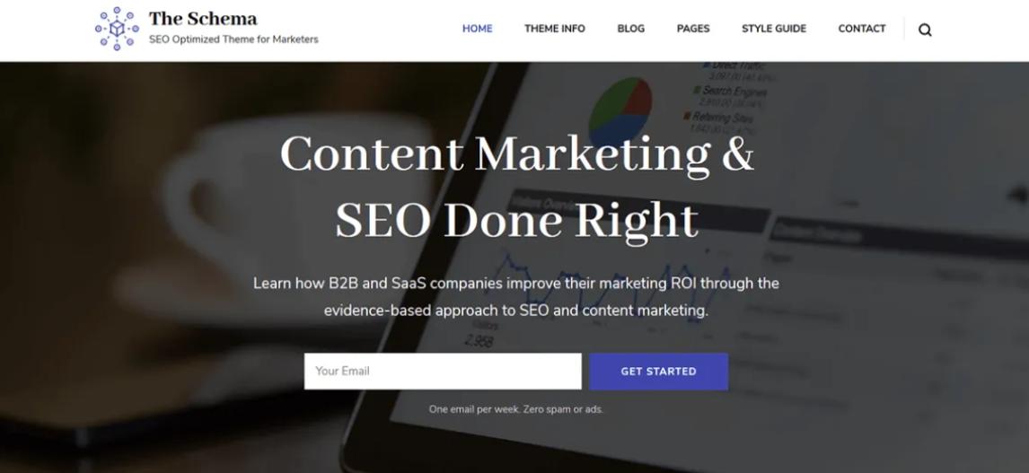 best theme for affiliate marketing website