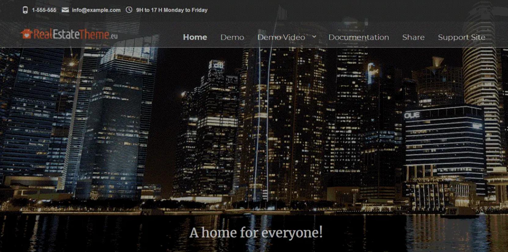WordPress real estate themes