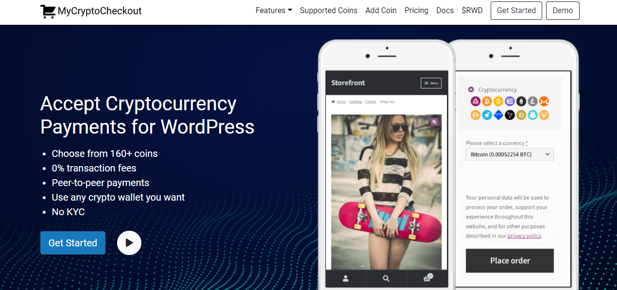 cryptocurrency plugins for WordPress